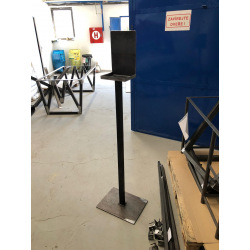 Steel disinfection stand 1