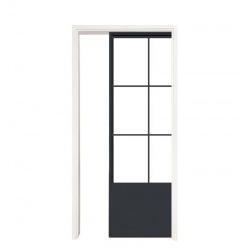 Steel sliding door for...
