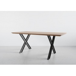 Steel table base X-type type 2