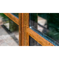 Corten window with...