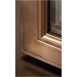 Bronze window with...