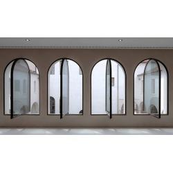 Corten windows with...