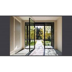 Steel external doors with...