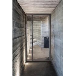 Steel glass exterior doors