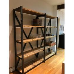 Iron shelf system furniture Kirra