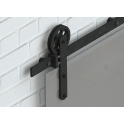 Sliding system for glass door Country Glass,  for double doors