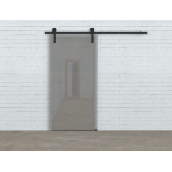Sliding system for glass door Glass 80, for double door