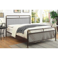 Streampunk 2 steel tube double bed