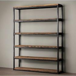 Industrial shelf for living room Jakko