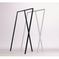 Steel hanger for shops and changing rooms model 4