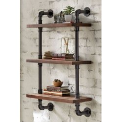 water pipe induarial shelf system