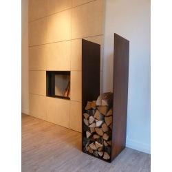 Industrial shelf for wood Winta Rusty