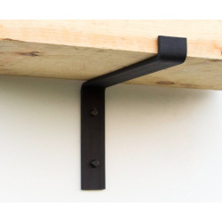 Industrial wall shelf holder Top 20cm