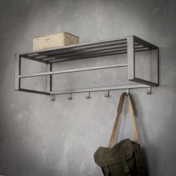 Steel hanger with shelf Utila
