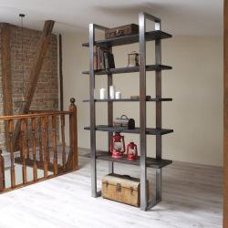 Industrial shelf for living room Kaola