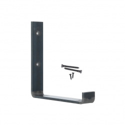 Steel holder for wall shelves top 25cm