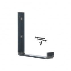 Steel holder for wall shelves top 25cm