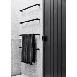 Rezza industrial black pull handle