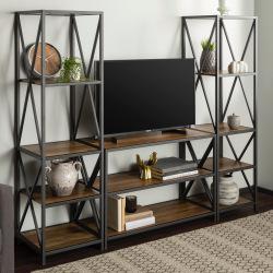Izidor steel bookcase