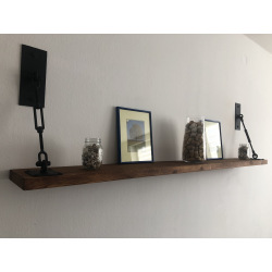 Industrial shelf with Virta suspension
