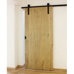 Sliding door fitting system Retro Barn 80, for two doors