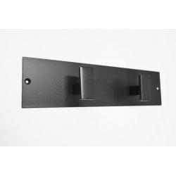 Modern steel wall hanger 2pc