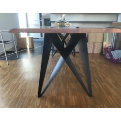 Steel base for dining table type 25