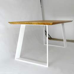 Metal square table legs...