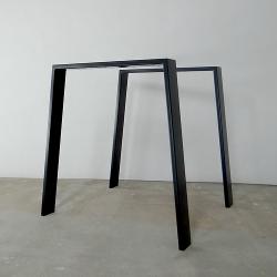 Metal square table legs...