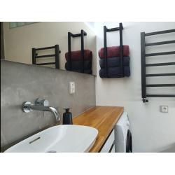 Steel towel holder for...