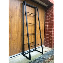 Steel massive shelf with...