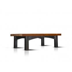 Volga industrial coffee table