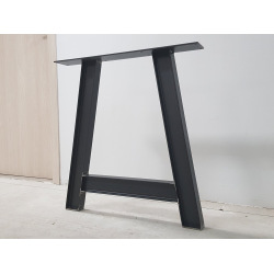 Metal square table base type 7